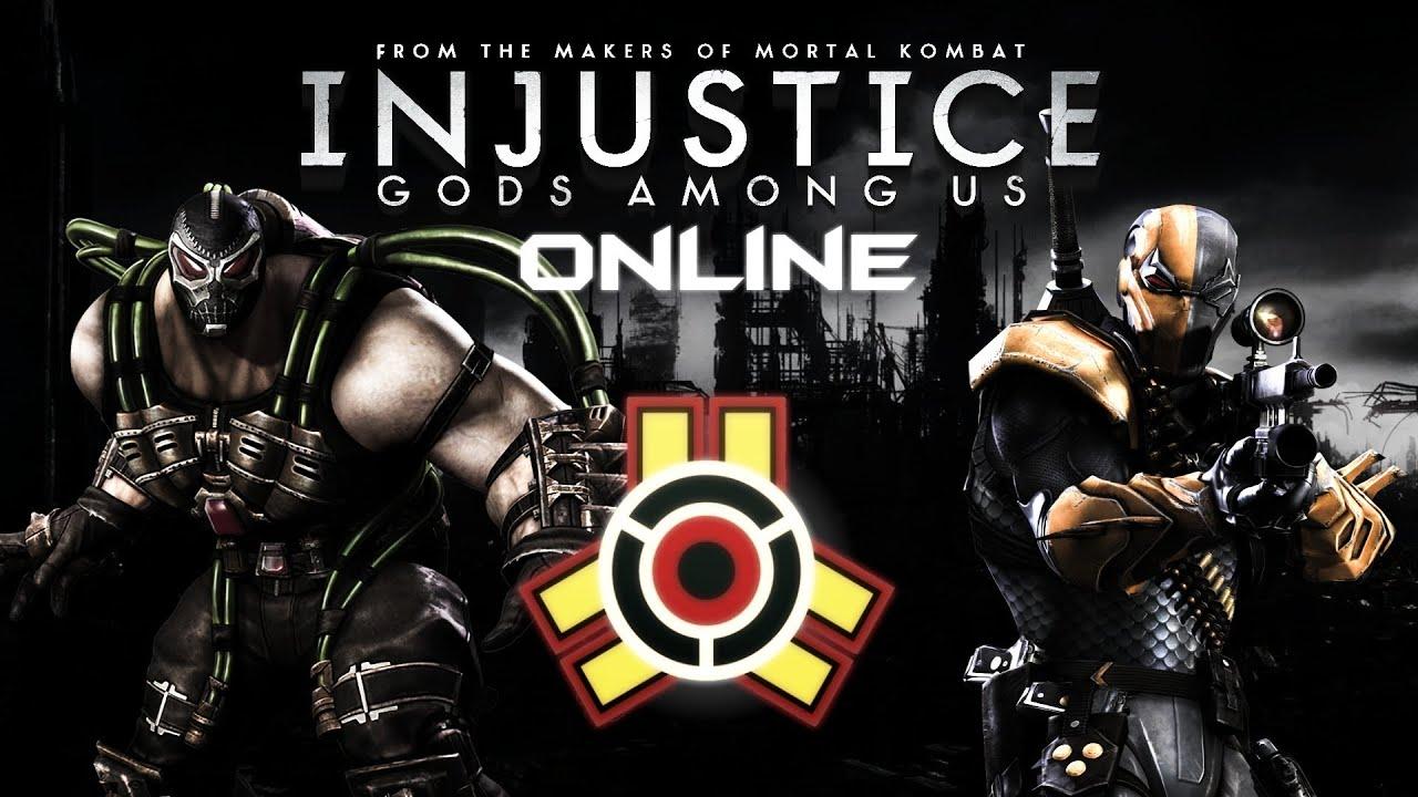 Injustice Gods Among Us Online Battle RapierHirsch Bane Vs Gioghurt Deathstroke
