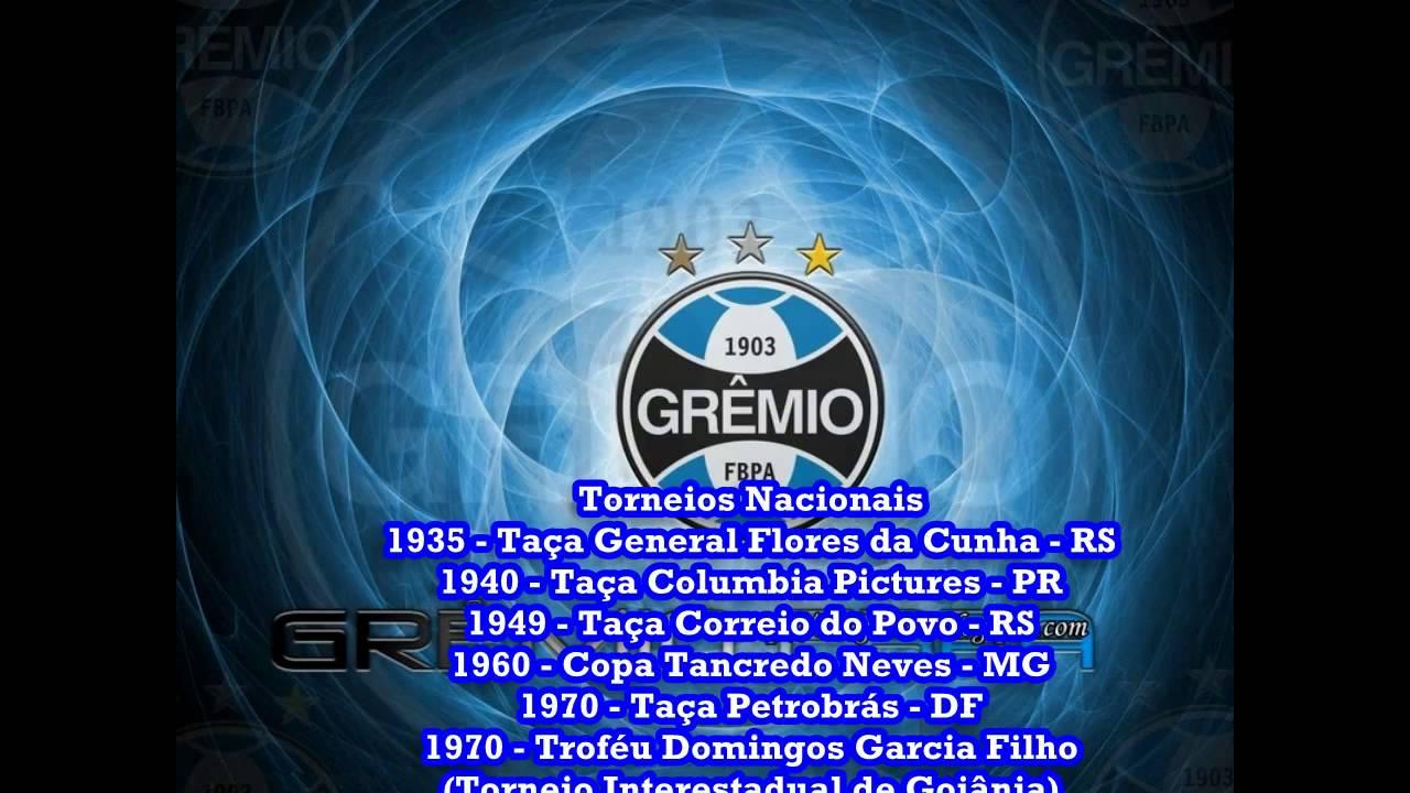 84d9fdccb7 Grêmio Imortal Tricolor e Seus Titulos - YouTube