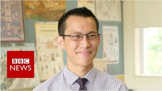 Eddie Woo: The maths teacher who became an online star - BBC News