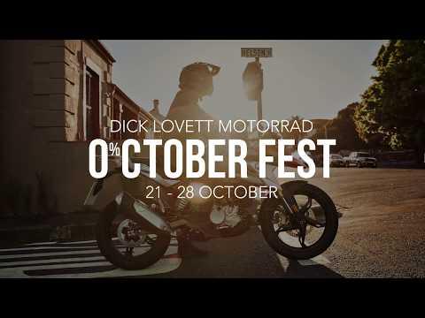 0% APR October Fest Offers at Dick Lovett Motorrad