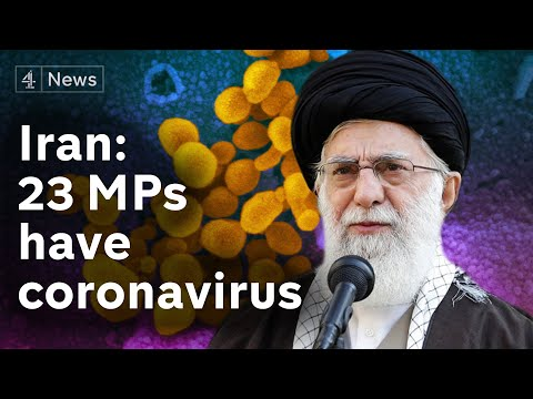 Coronavirus: Iran says 23 MPs have disease