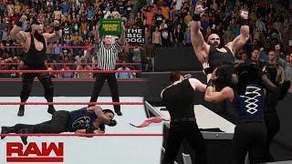 The Shield Reunite & Stop Braun Strowman From Cashing In MITB & Triple Powerbomb RAW 8/20/18 (2K18)