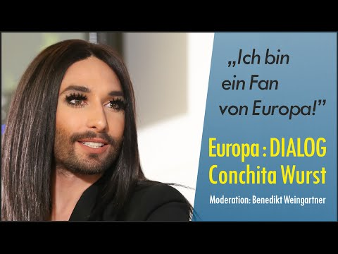 Europa : DIALOG mit Conchita Wurst
