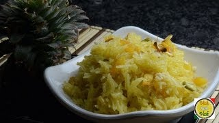 Pineapple Zarda Pulao  - By Vahchef @ vahrehvah.com