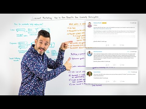 Comment Marketing: The Benefits of Community Participation - Whiteboard Friday