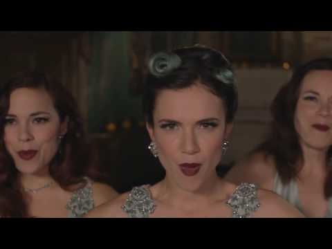 The Langley Sisters perform  Boogie Woogie Bugle Boy