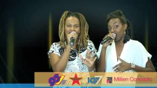 "UNCOVERED SemiFinals - Archer Sisters - Calypso Rose/Destra ""Fire/Cool It Down""  [Acoustic Cover]"