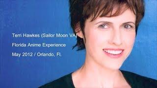 Sailor Moon Dub - Terri Hawkes' panel at the Florida Anime Experience (May 2012)