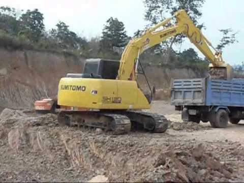 Excavator rental Philippines