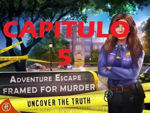 Adventure Escape: Framed for Murder | Capitulo 5 | SOLUCION ESPAÑOL ...
