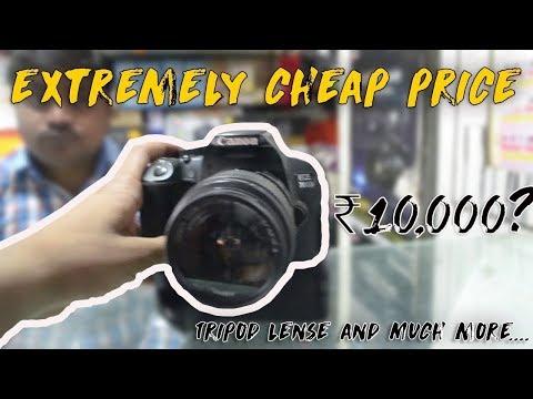 DSLR MARKET IN DELHI | Cheapest Cameras -NIKON , CANON  | Chandni Chowk - Wholesale market