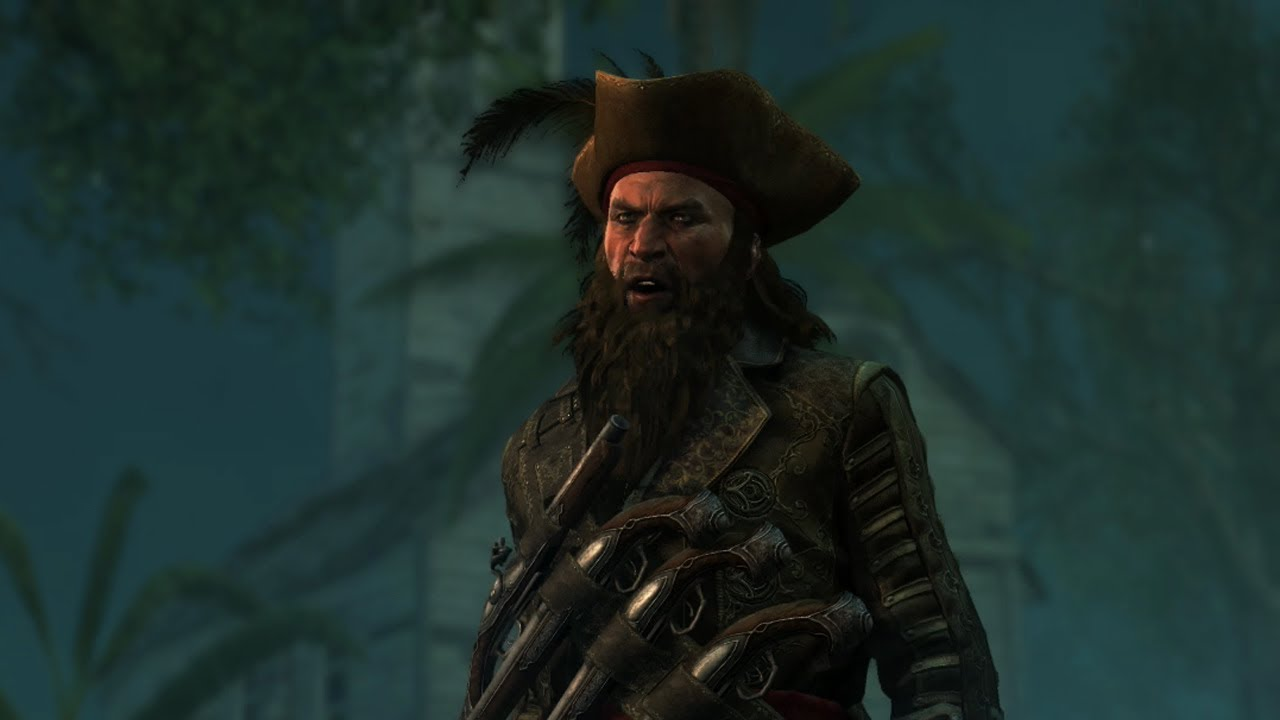 Assassin 39 s creed iv black flag meeting blackbeard youtube - Assassin s creed pictures ...