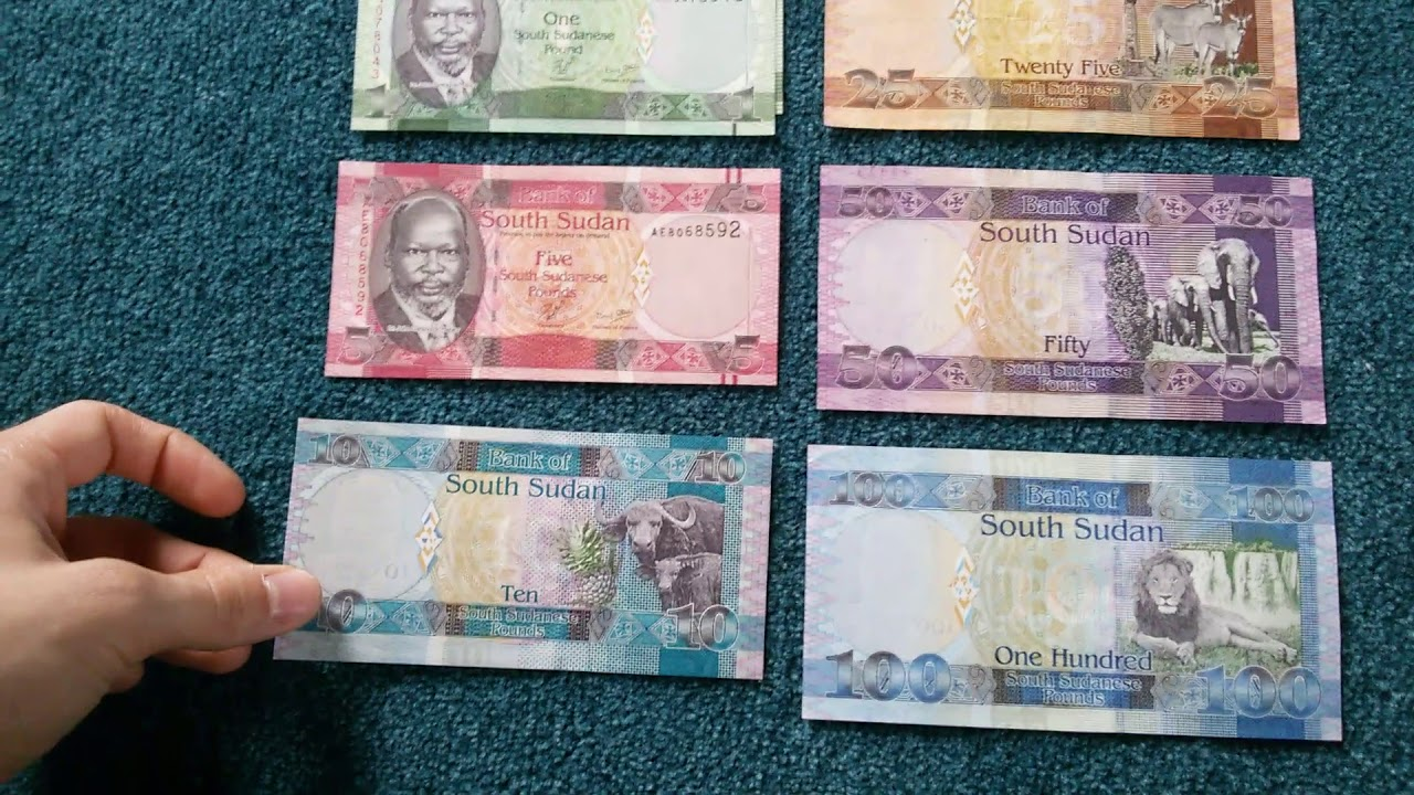 Currency Special Part 55 South Sudanese Pound
