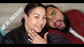 We're ENGAGED! Proposal Story time video
