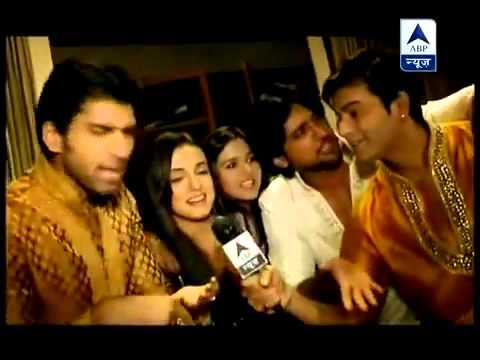 IPKKND gang masti on the set SBS 13th June 2012 thumbnail