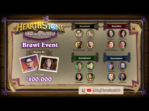 Heartstone Esports - Battlegrounds Brawl - Battle of the Boa
