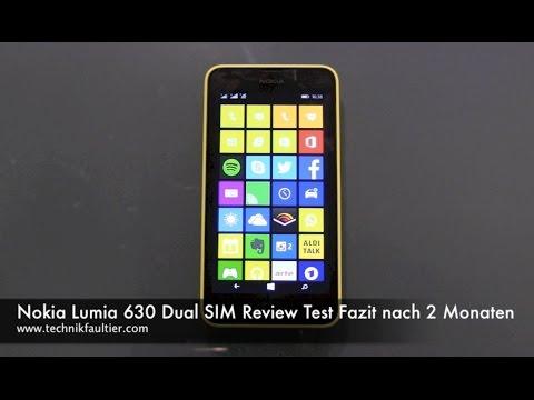 Nokia Lumia 630 Dual SIM Review - Test Fazit nach 2 Monaten