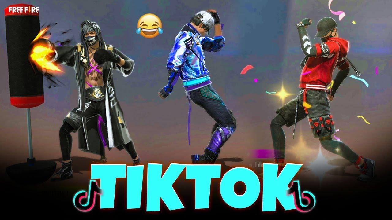 Download free fire tik tok video 2021 | free fire funny wtf moments | ff tik tok (part 60) 😂
