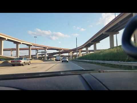 Driving tour of north Dallas area.