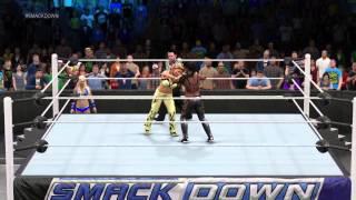 WWE Divas Storyline 16 2K15  *Smackdown*  Week 3