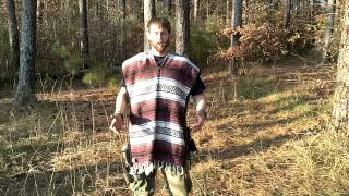 Mexican Poncho For Survival & Tactical