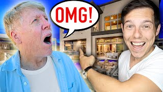 Surprising My Dad With My NEW Dream Home!