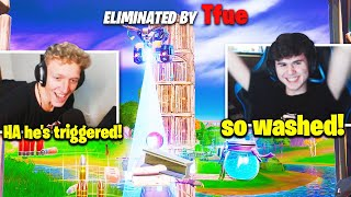 BUGHA LOSES IT *FULL RAGE* after PROS do THIS! (Fortnite)