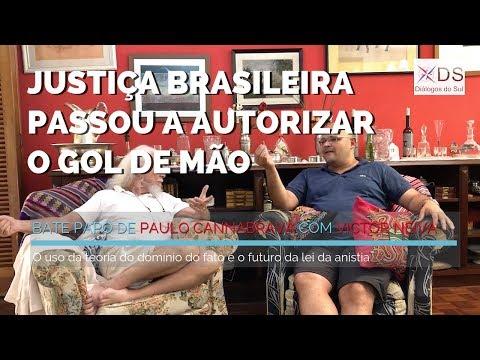 Justiça brasileira passou a autorizar o gol de mão -  Entrevista com Victor Neiva
