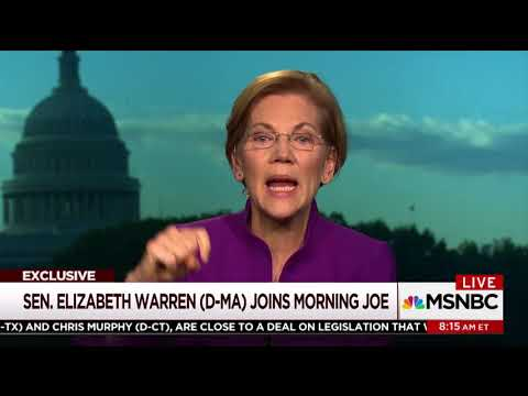 MSNBC unimpressed when Elizabeth Warren says current leader of Democratic Party is