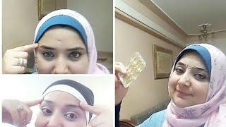 وصفتى العجيبه للتخلص من خطوط الجبهه/ تجاعيد الجبهه بقرصين من الصيدليه مع مريم يحيى