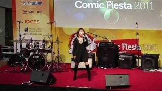 Shimokawa Mikuni Sore Ga Ai Deshou Live At Comic Fiesta 2011