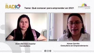 Vídeo de entrevista a Karen Carrillo, Consultora en Emprendimientos