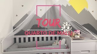 Tour do quartinho de Malu