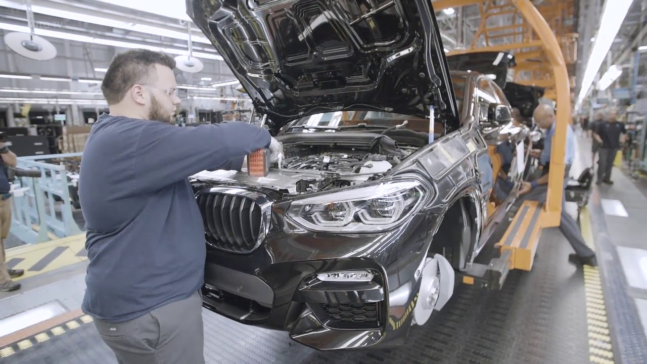 Download 2019 Bmw X4 Production Car Factory Usa 23 53 Mb 2802