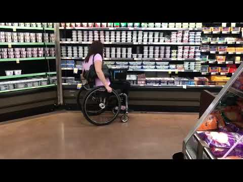 Paraplegic fall and transfer 4