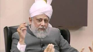 Bustan-e-Waqfe Nau, 20 Feb 2010, Educational class with Hadhrat Mirza Masroor Ahmad(aba)