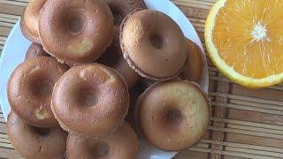 Пончики апельсиновые в мультипекаре от REDMOND.