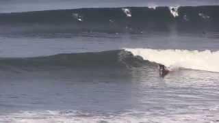 Sunset Cliffs surfing January 25, 2014