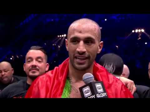 GLORY 51: Badr Hari sends message to Rico Verhoeven in exclusive post-fight interview