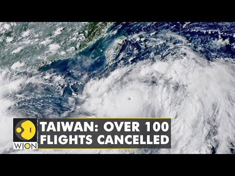 Typhoon Chanthu drenches Taiwan   English News   World News   WION