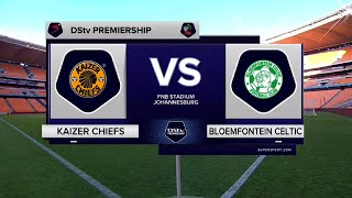 DStv Premiership | Kaizer Chiefs vs Bloemfontein Celtic | Highlights
