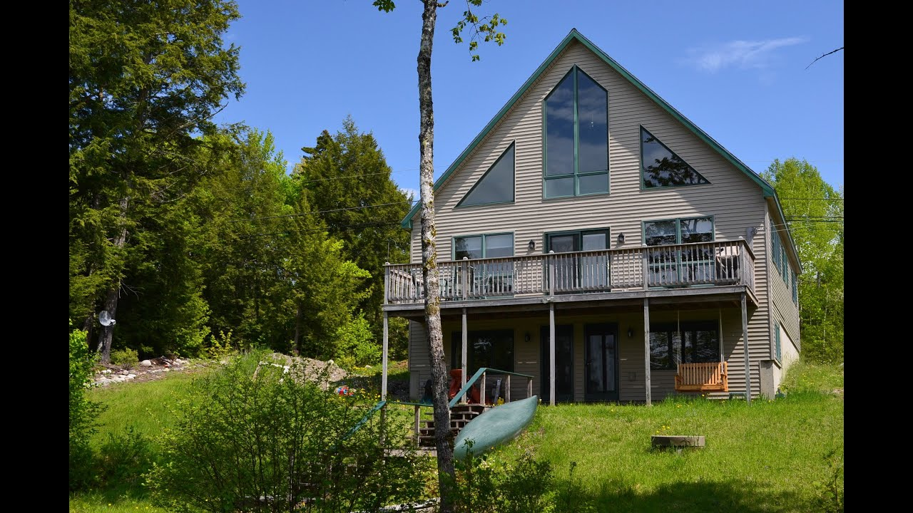 SOLD Maine Lakefront Home and Real Estate for Sale on ...