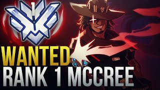 WANTED - RANK 1 McCREE GOD WITH NEW MCCREE BUFF - Overwatch Montage