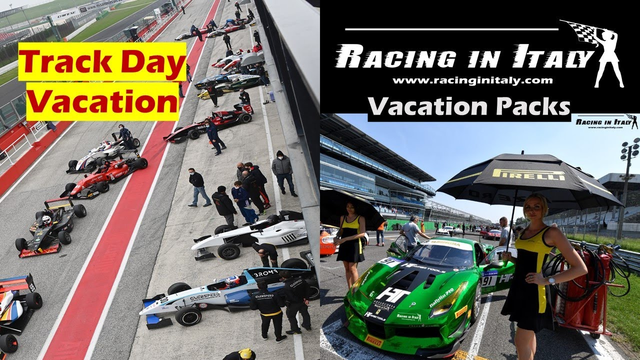 Who make Race Track Days Vacation | Clubs | Individuals | Travel in Italy | Europe?