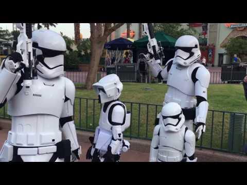 Disney Launch Bay Kids Trooping