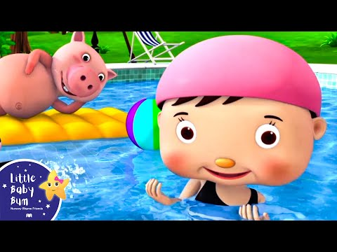 Thumbnail: Swimming Song | Nursery Rhymes | Original Song by LittleBabyBum!