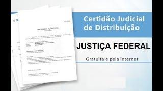 APRENDA A EMITIR CERTIDÃO NEGATIVA NA JUSTIÇA FEDERAL ONLINE ( GRÁTIS)- FÁCIL E RÁPIDO
