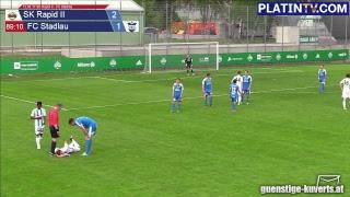 Rapid Wien (A) vs FC Stadlau full match