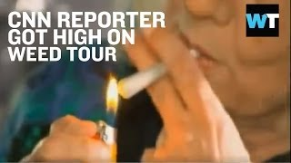 CNN Reporter Gets Stoned on Anderson Cooper | What's Trending Now