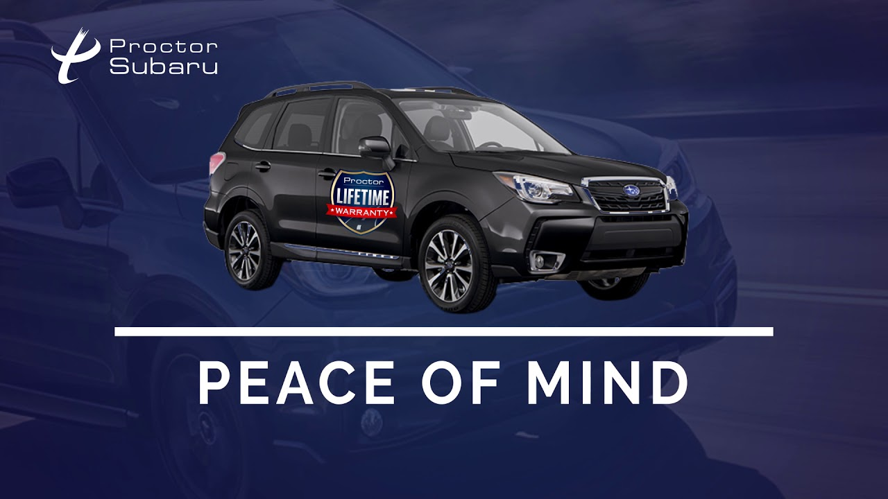 Proctor Lifetime Warranty   Tallahassee, FL   Proctor Subaru